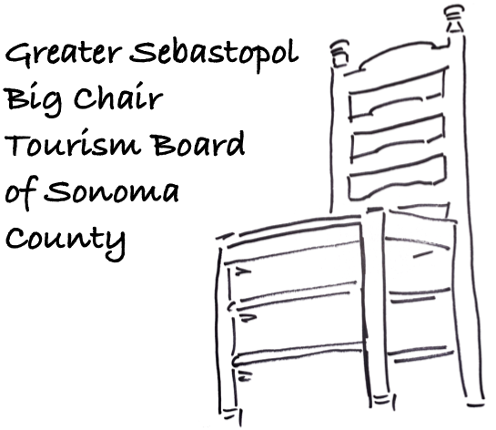 Greater Sebastopol Big Chair Tourism Board of Sonoma County
